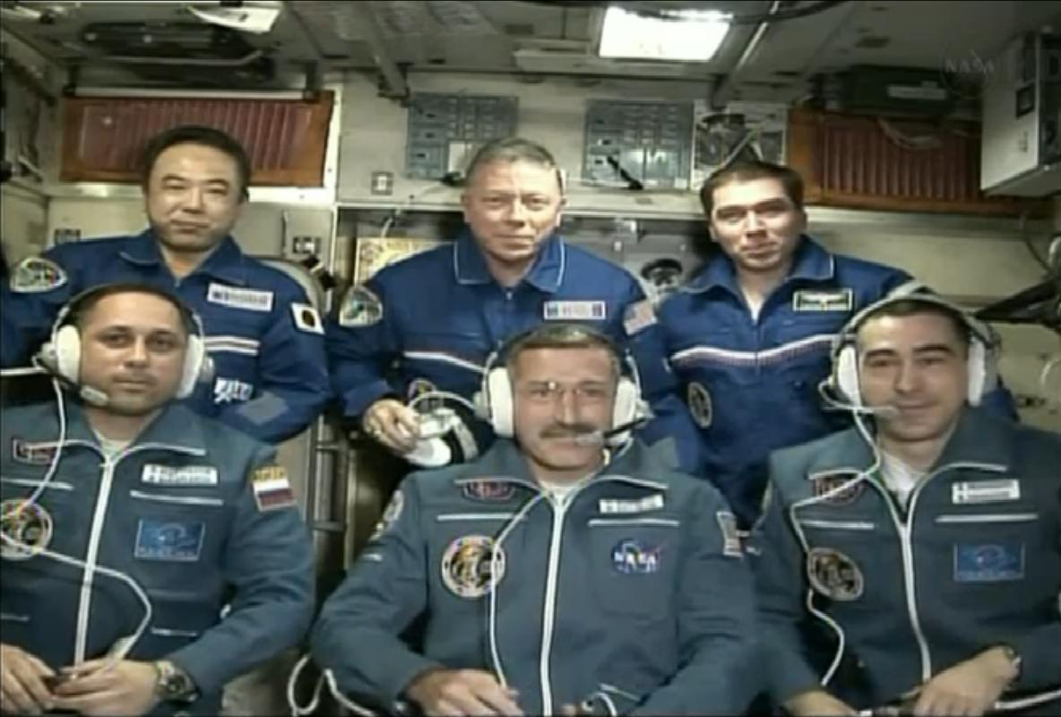 New Crew Arrives at Space Station on Russian Spaceship