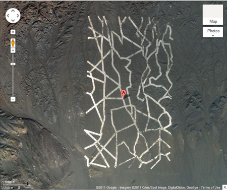 Mysterious Symbols in China Desert Are Spy Satellite Targets, Expert Says