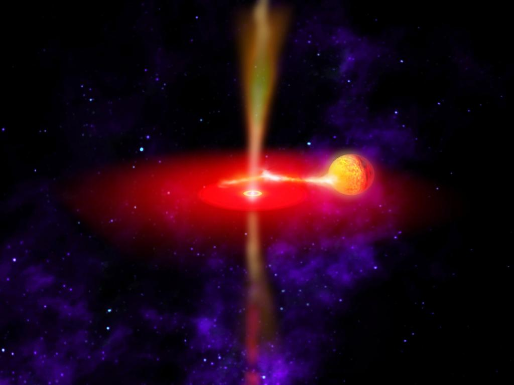 Black Holes May Get Supermassive by Eating Stars