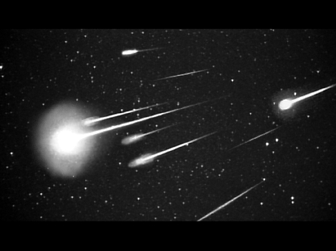 "Why don't most meteor showers ""shower?"""