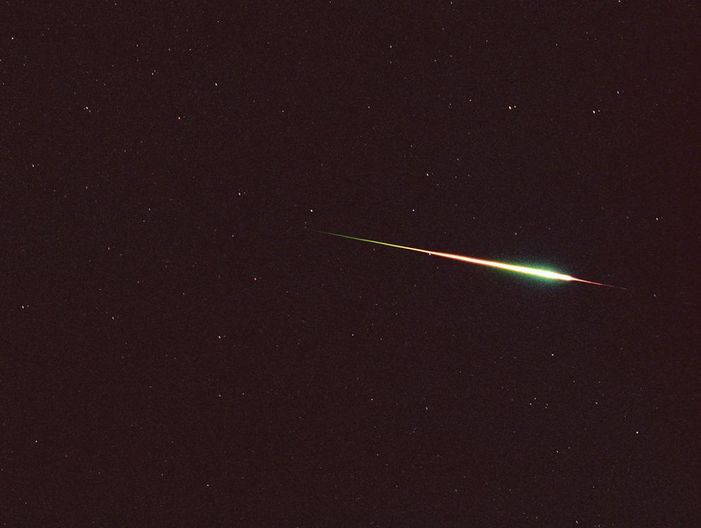 Leonid Meteor Fireball - 2001