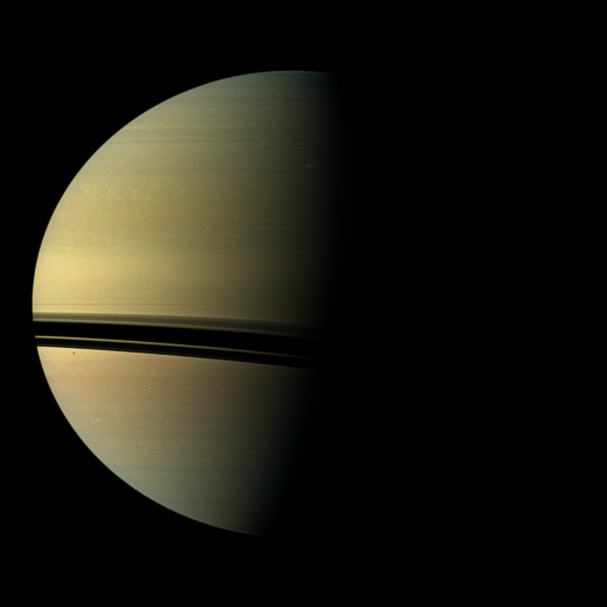 Birth of Saturn's Giant Storm