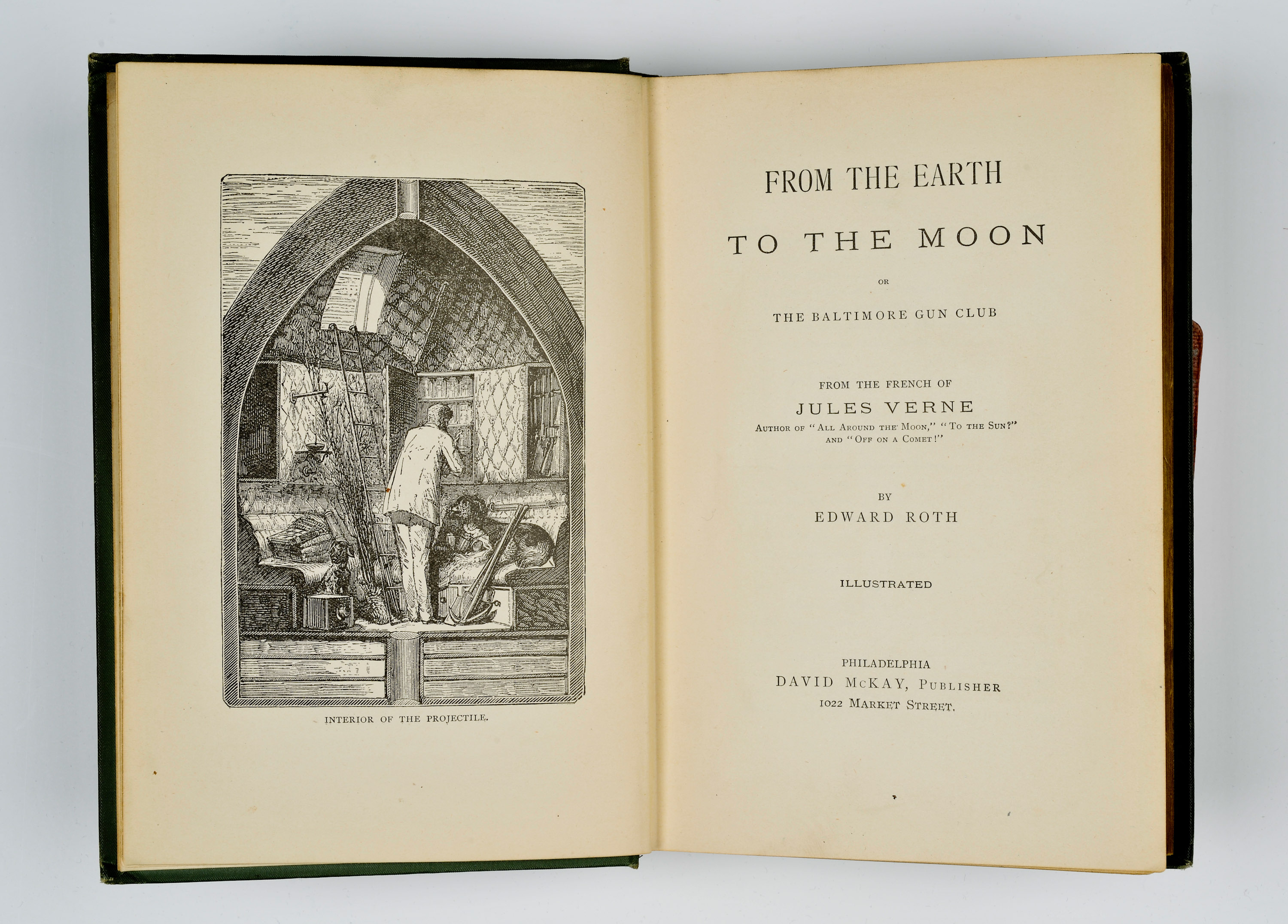 Jules Verne's From the Earth to the Moon