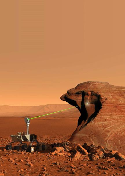Curiosity Has a Laser (Pew, pew, pew!)