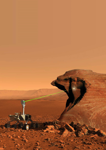 Why NASA's Big Mars Rover Has a Laser to Zap Rocks