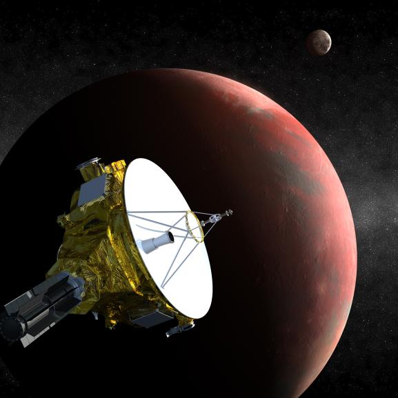 New Pluto Moon Hints at Perilous Journey for Spacecraft