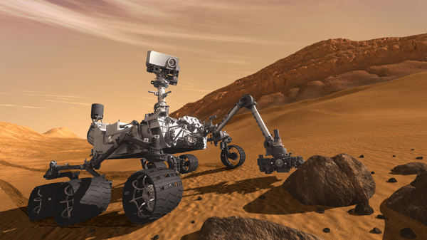 Would a Mars Science Laboratory Launch Accident Pose a Radiation Risk?