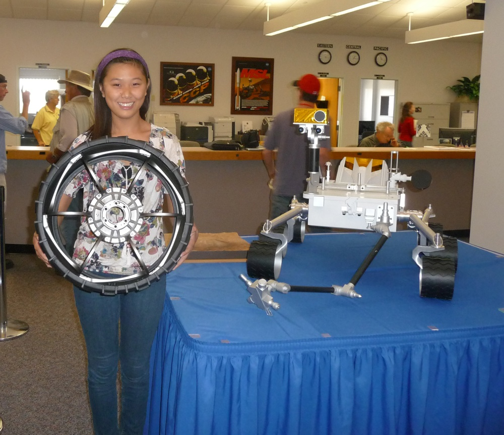 Girl Who Named NASA's Mars Rover Excited to Watch It Blast Off