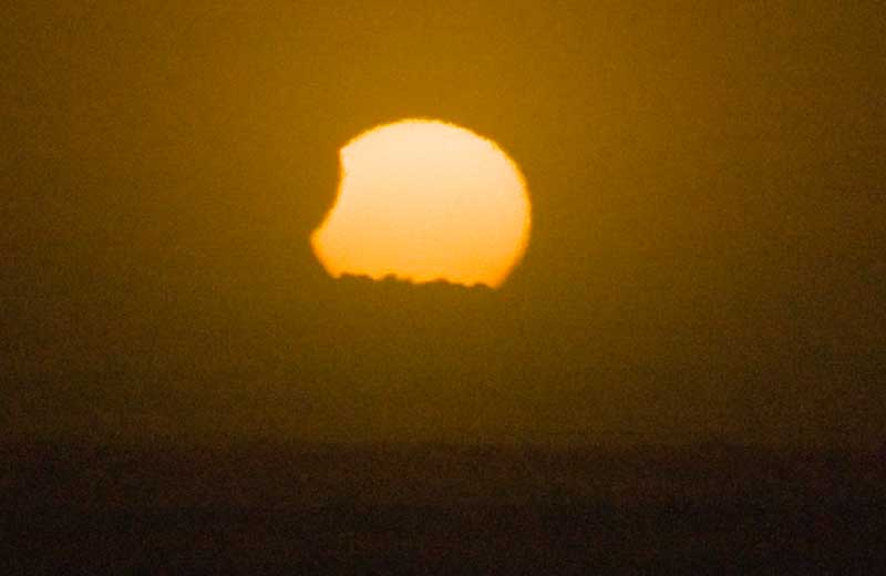 Nov. 25 Partial Solar Eclipse