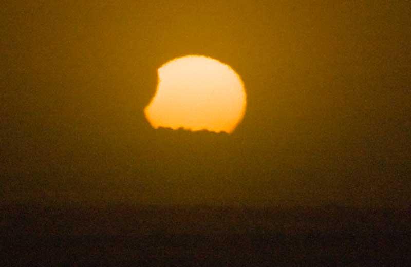 Solar Eclipse Darkens Sun Over Southern Hemisphere