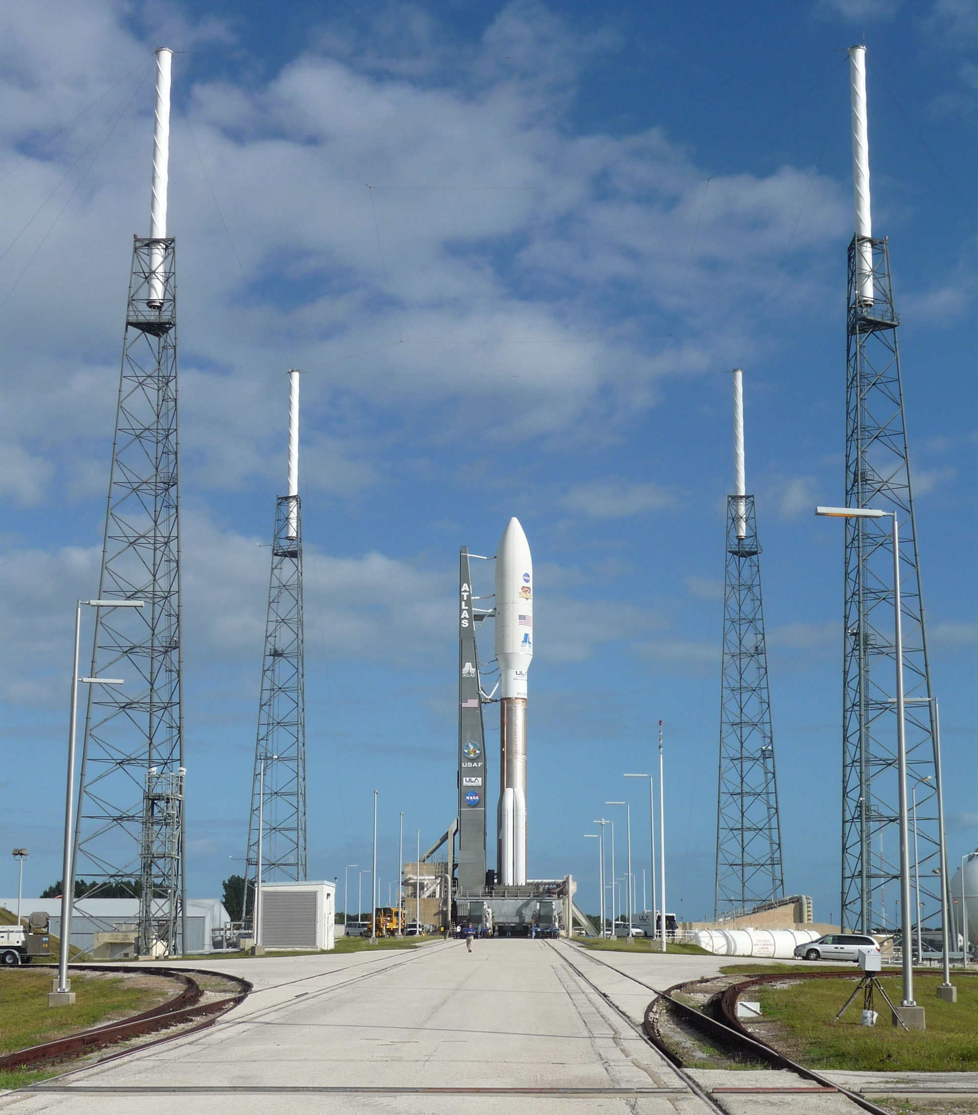 Curiosity's Atlas 5 Rocket