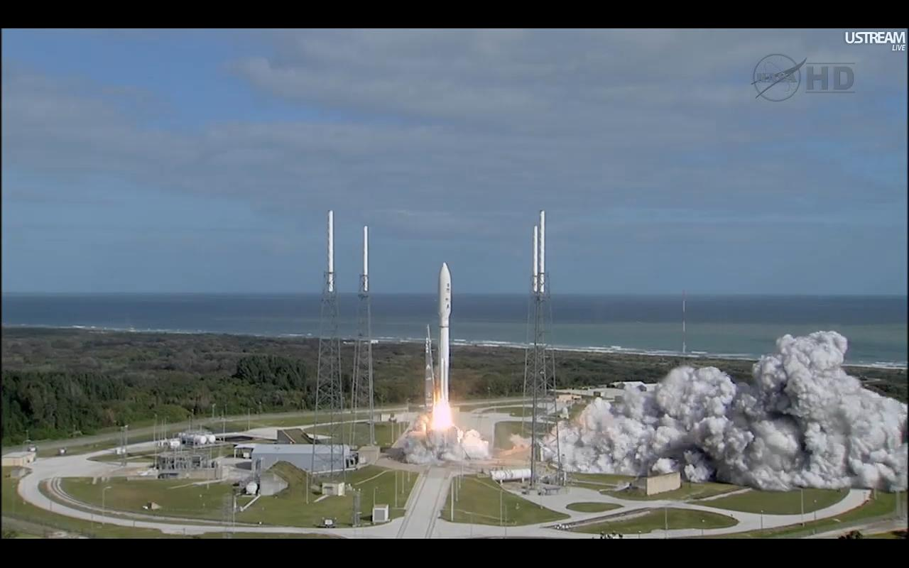 Next Stop Mars! Huge NASA Rover Launches Toward Red Planet