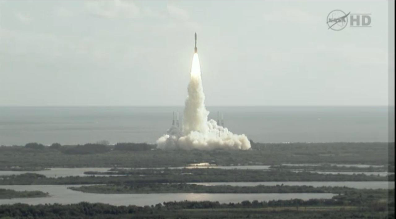 Mars Science Laboratory Curiosity Atlas 5 Launch