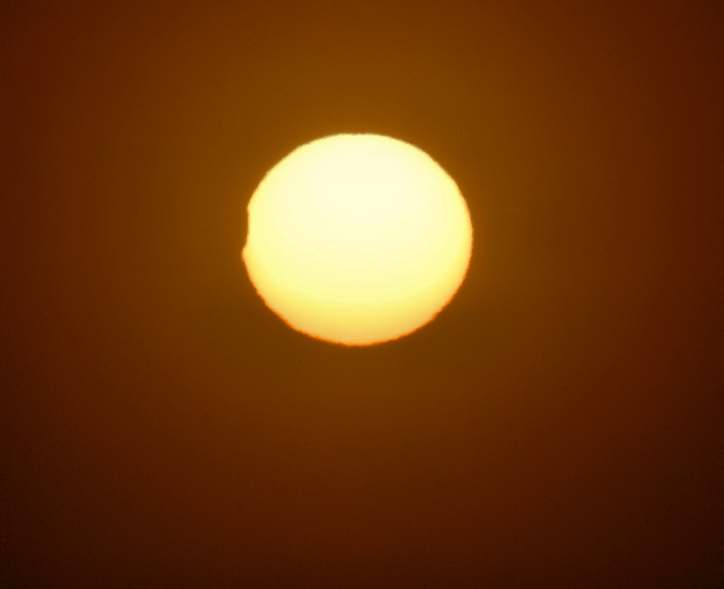 Partial Solar Eclipse - Nov. 25, 2011