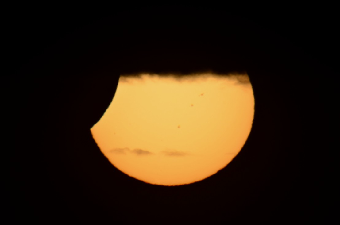 Partial Solar Eclipse on Nov. 25, 2011