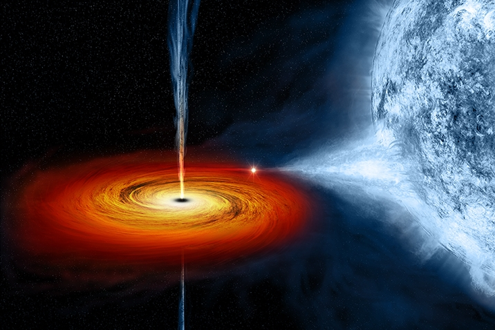 Black Holes May Have 'Hair'