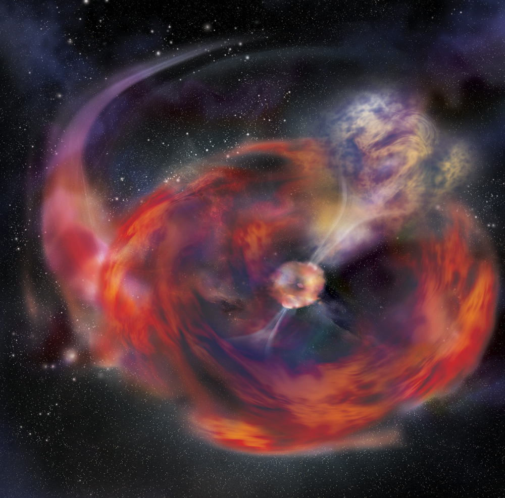 Competing Explanations Proposed for Strange Christmas Space Explosion