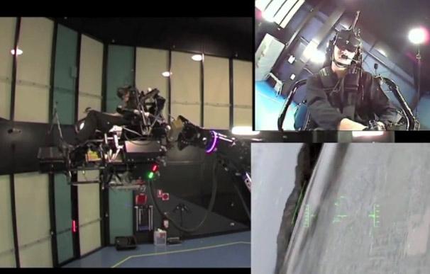 Huge Robot Arm Gives Budding Top Guns a Wild Whirl
