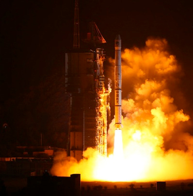 Successful Chinese Satellite Launch Breaks Record