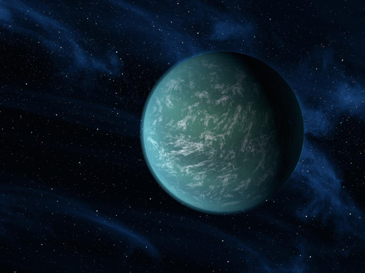 Alien Planet in Habitable Zone