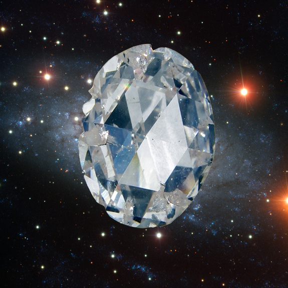Some Alien Planets Could Be Made of Diamonds, Study Finds