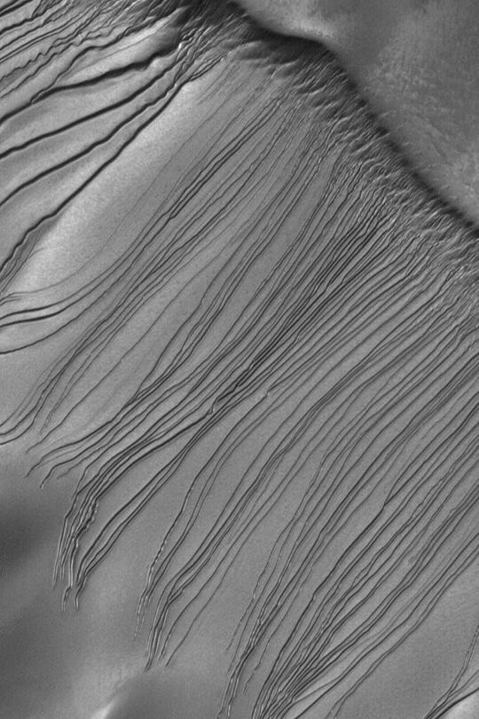 Mystery of Mars Gullies Solved