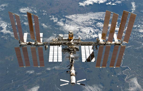 Space Station Gets New Additions