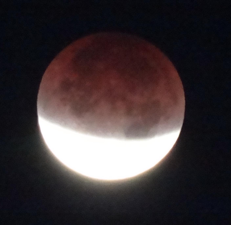 Eclipse over Arizona
