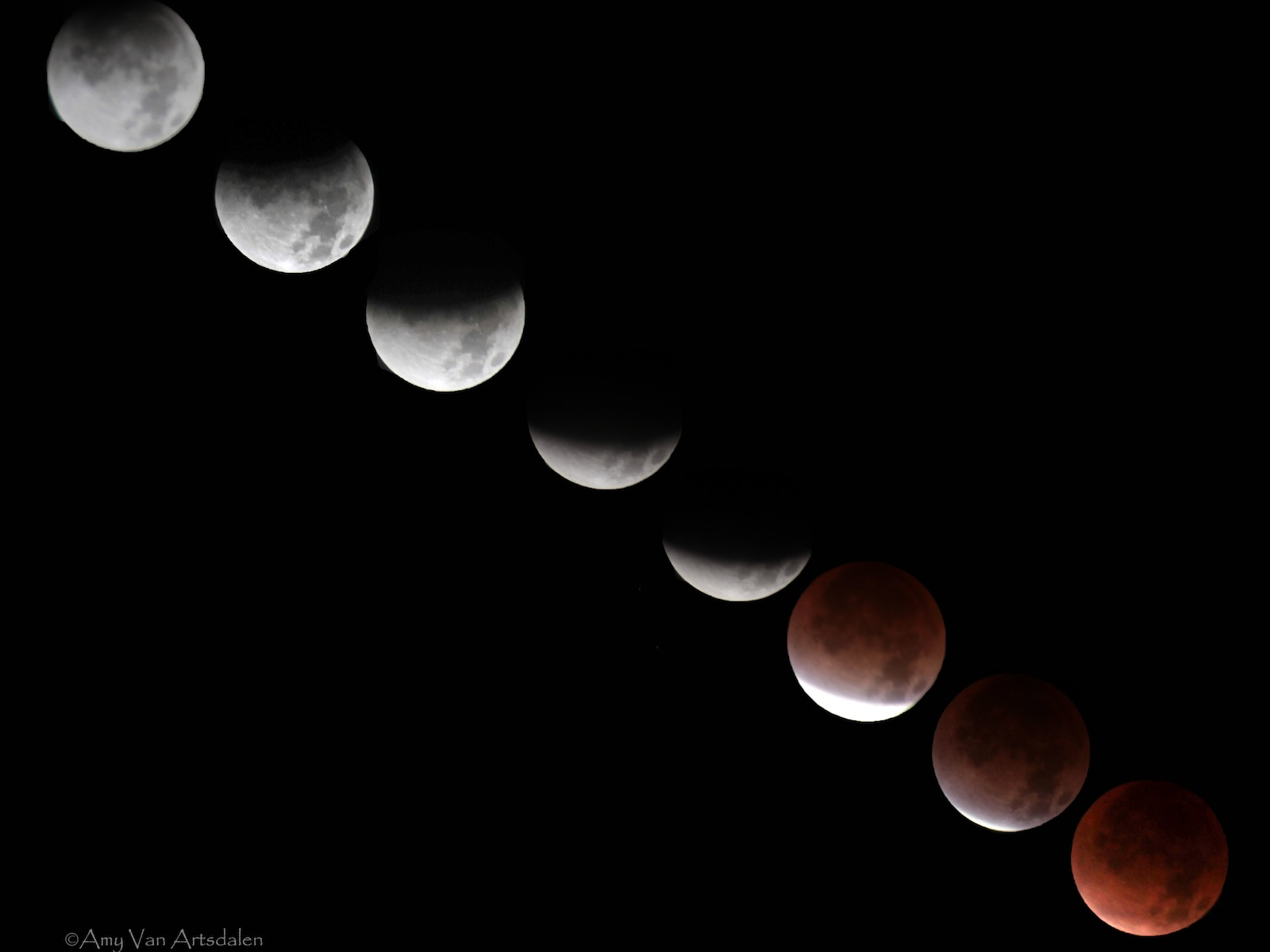 Total Lunar Eclipse - Dec. 2011