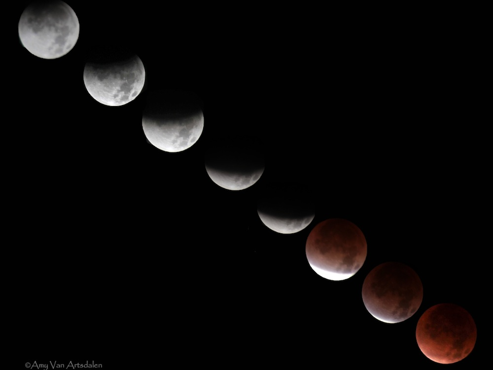 Total Lunar Eclipse - Dec. 2011