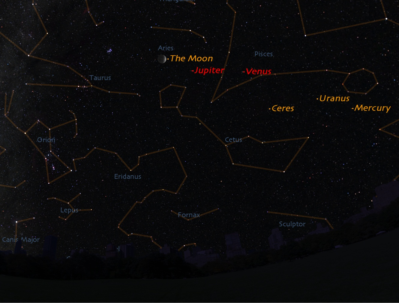Bright Lights in the Evening Sky: Spot Venus & Jupiter Tonight