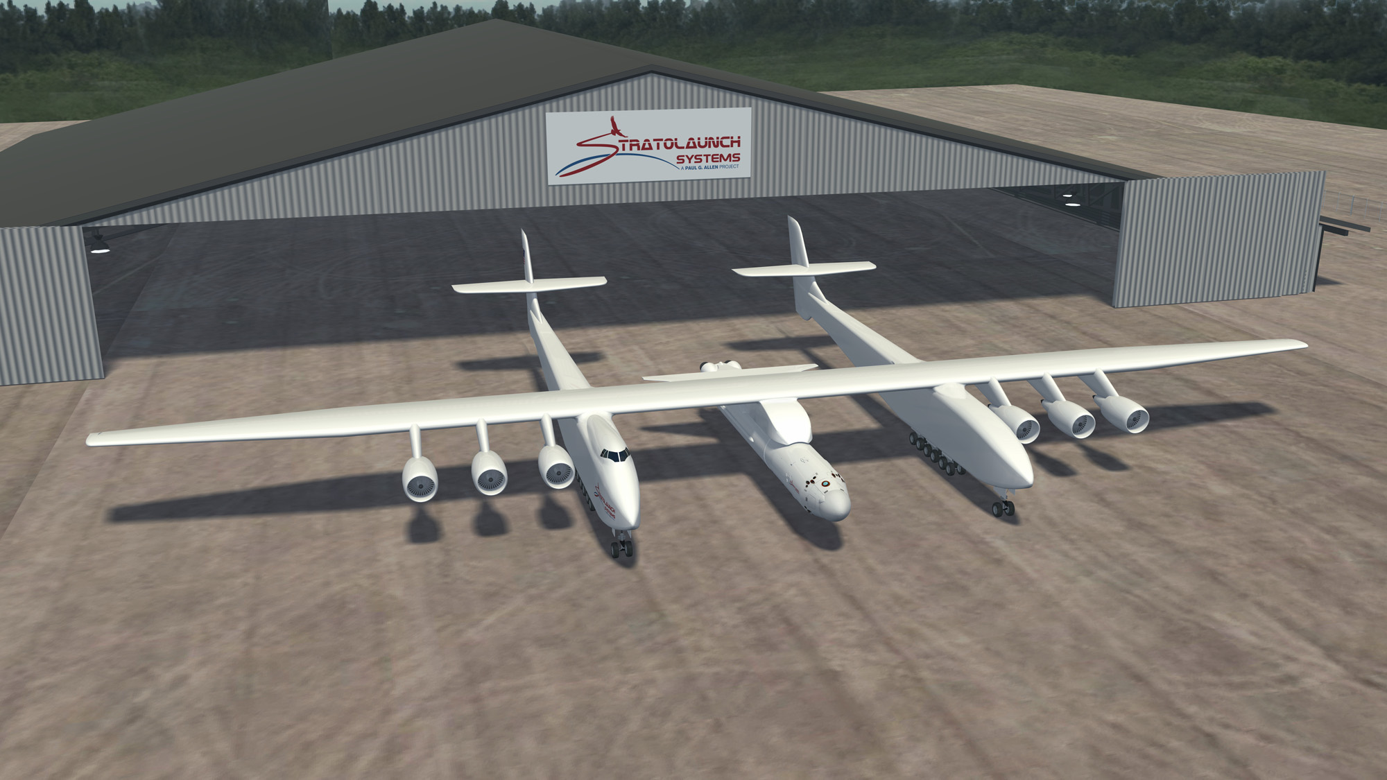 Microsoft Co-Founder Paul Allen Unveils Giant Plane for Private Space Launches