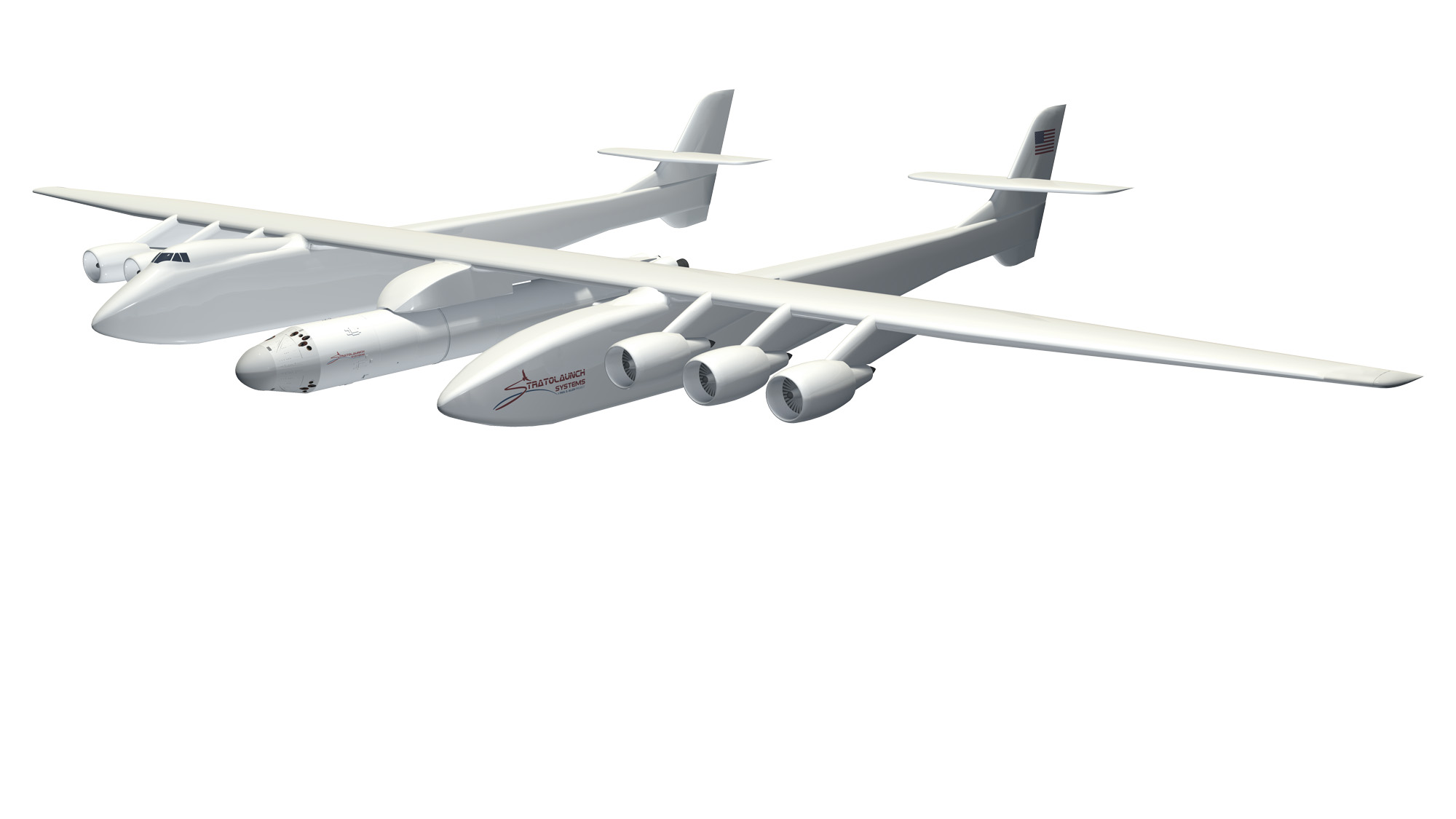 Stratolaunch Systems: Giant Air-based Rocket Launch Pad