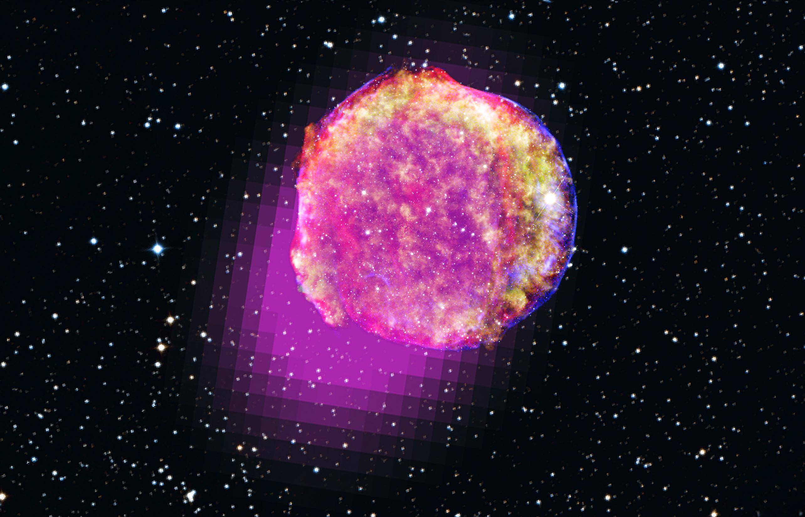 Tycho Supernova Shines Bright in Gamma-Ray Light