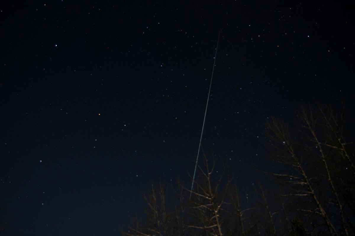 Photos: Geminid Meteor Shower of December 2011