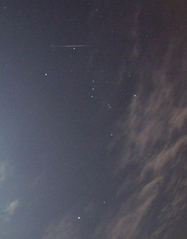 Geminid Meteor Over Hungary