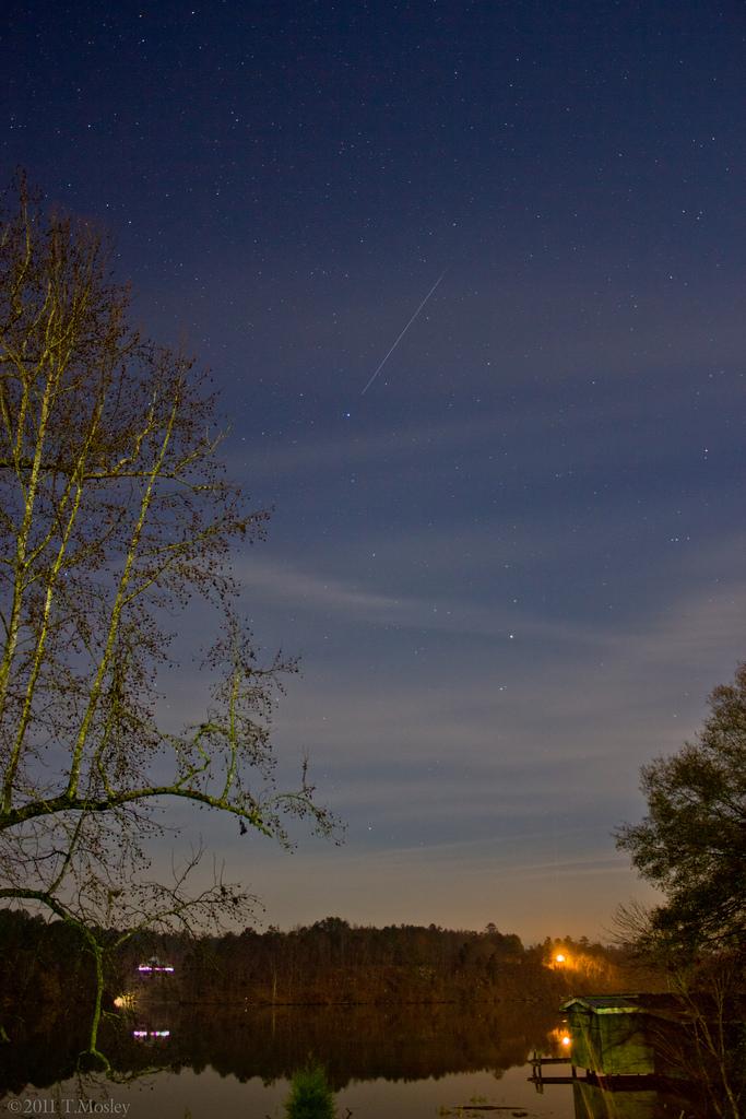 Geminid Meteor Shower - Alabama