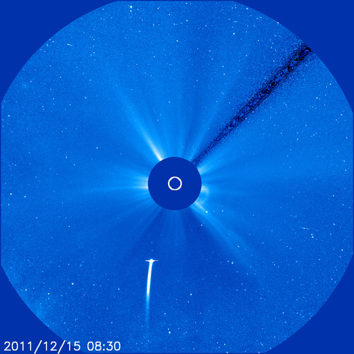 Satellites to Watch Comet's Death Plunge Through Sun Today