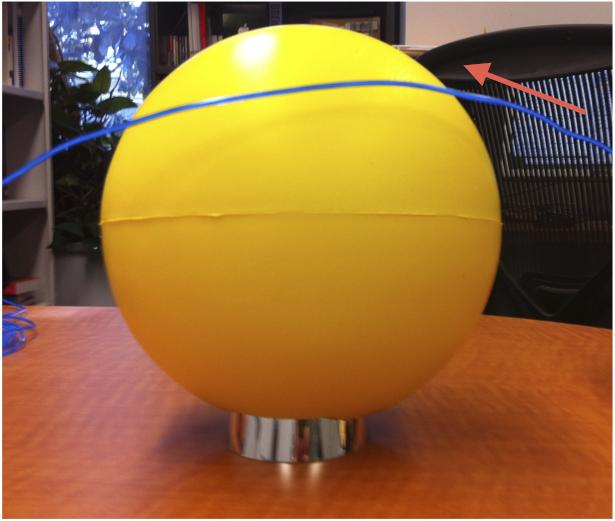Comet Lovejoy's Sun Dive: Model