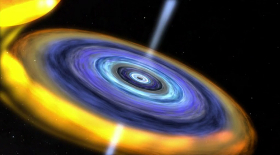 X-Ray Heartbeat May Reveal Smallest Black Hole Ever Found