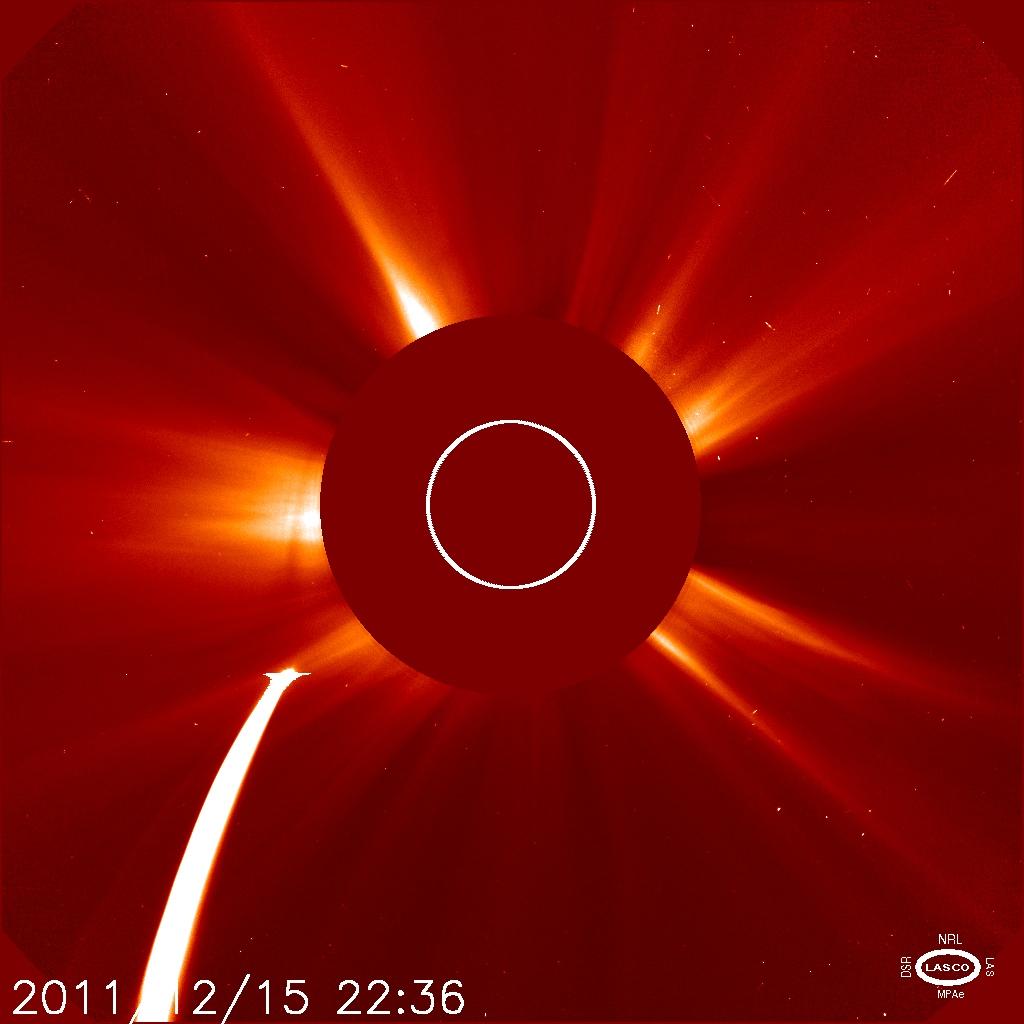 Comet Lovejoy Nears the Sun