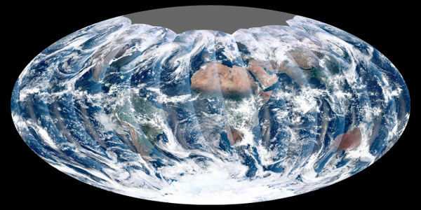 New Satellite Takes First Global Image of Earth