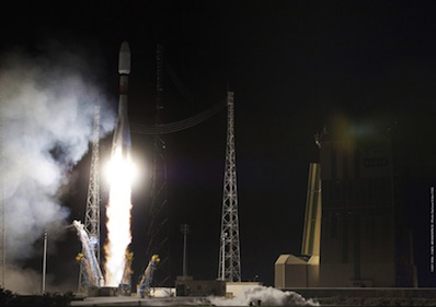 Russia Launches Defense Satellites for Europe, Chile