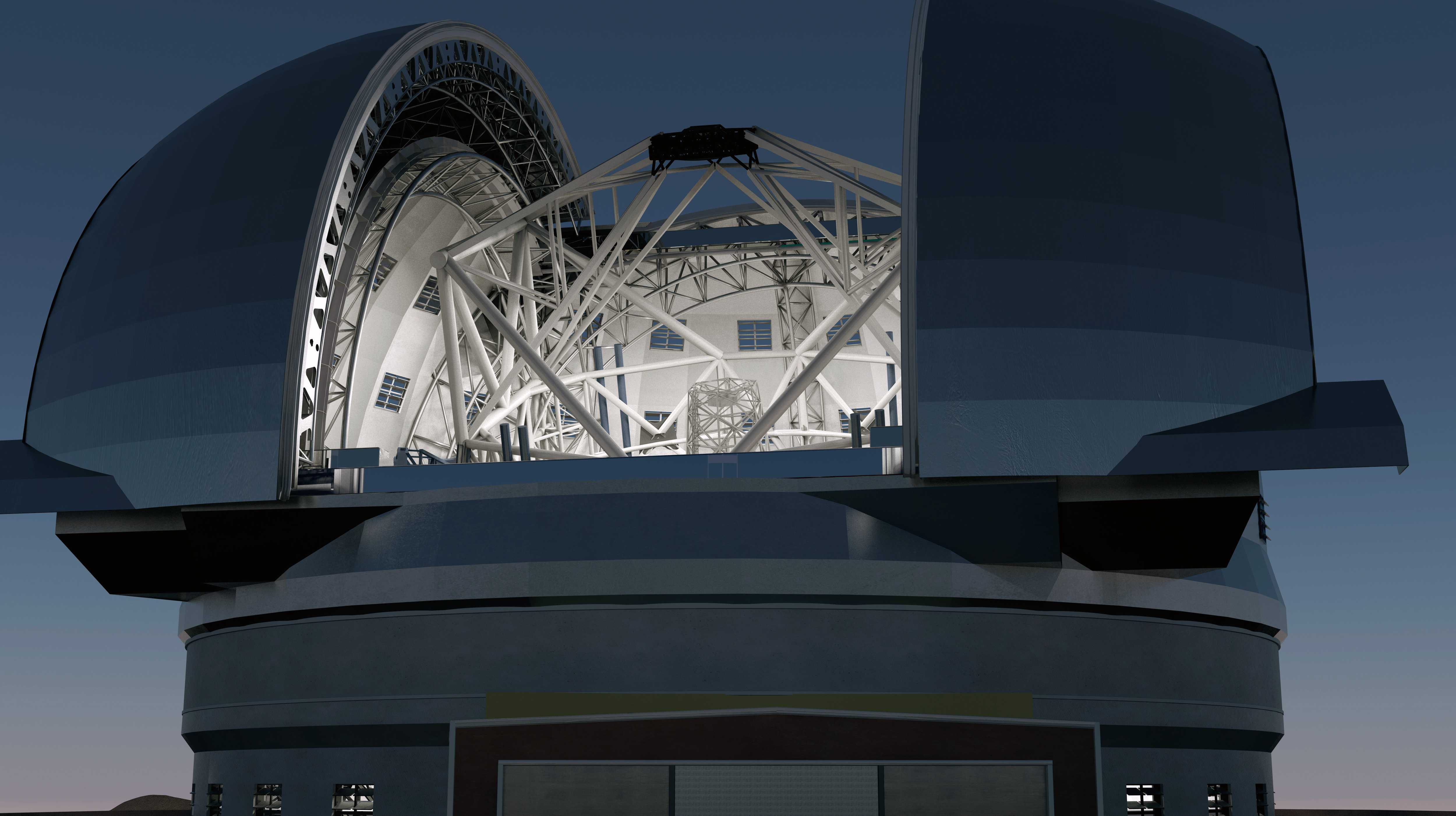 World's Largest Telescope Heavens