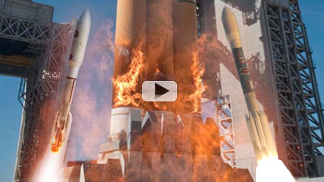 American Unmanned Rocket Launches of 2011