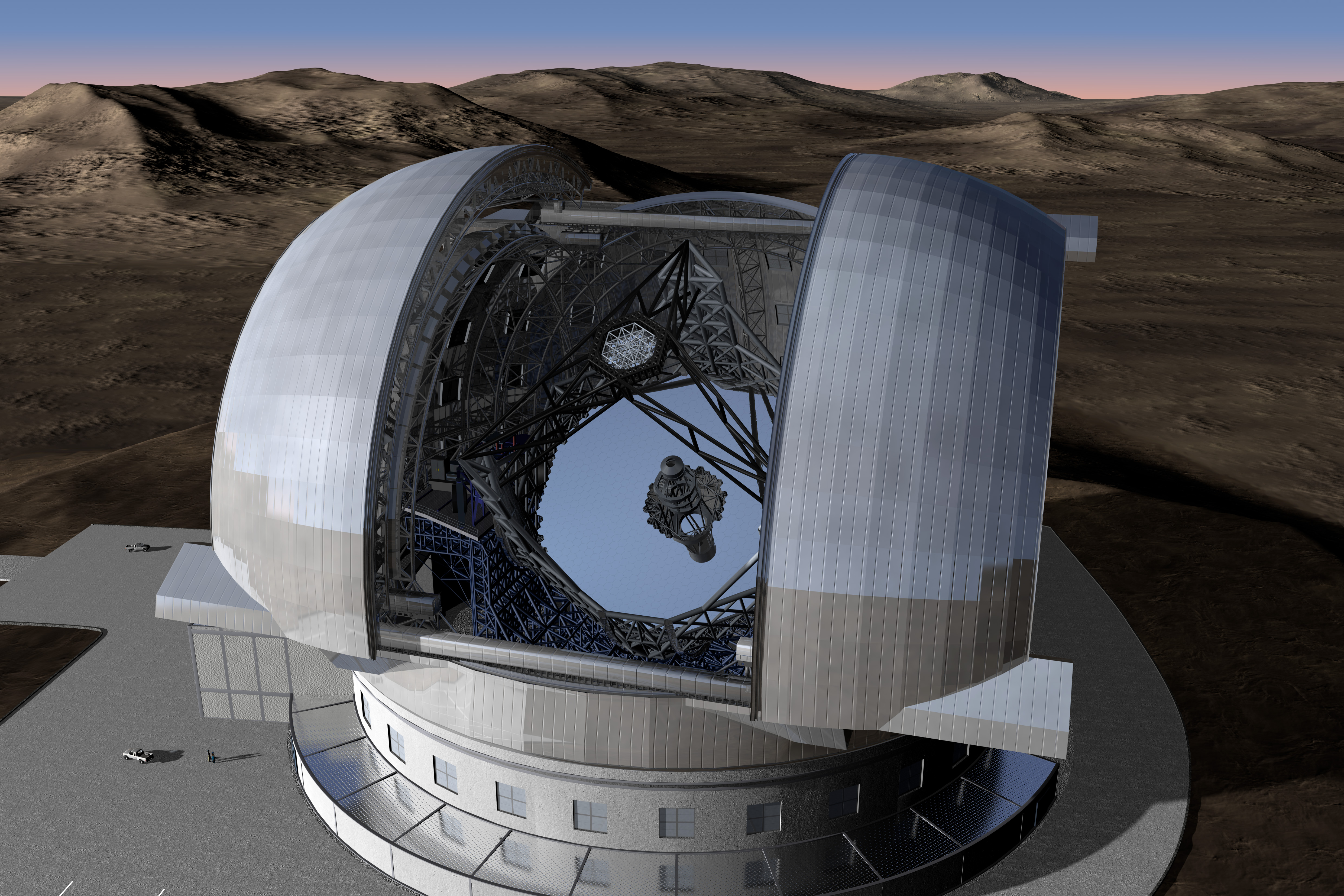 World's Largest Telescope Moves Ahead
