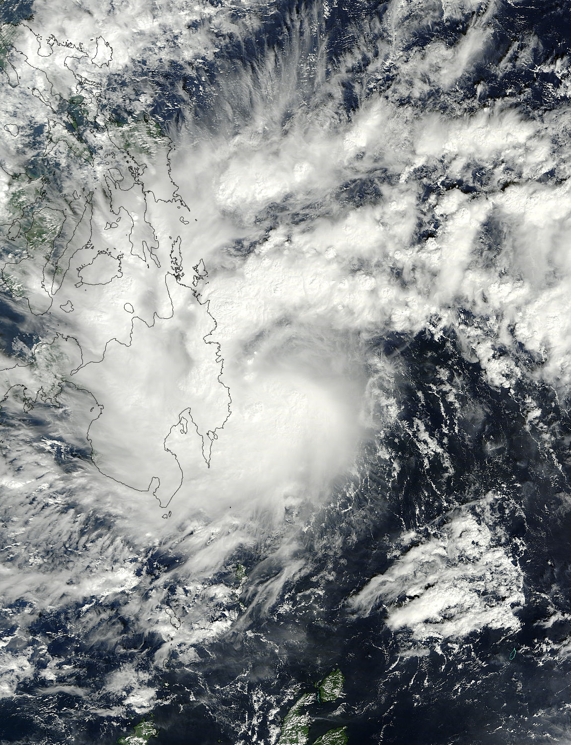 NASA Satellites Spied Deadly Philippines Storm Washi