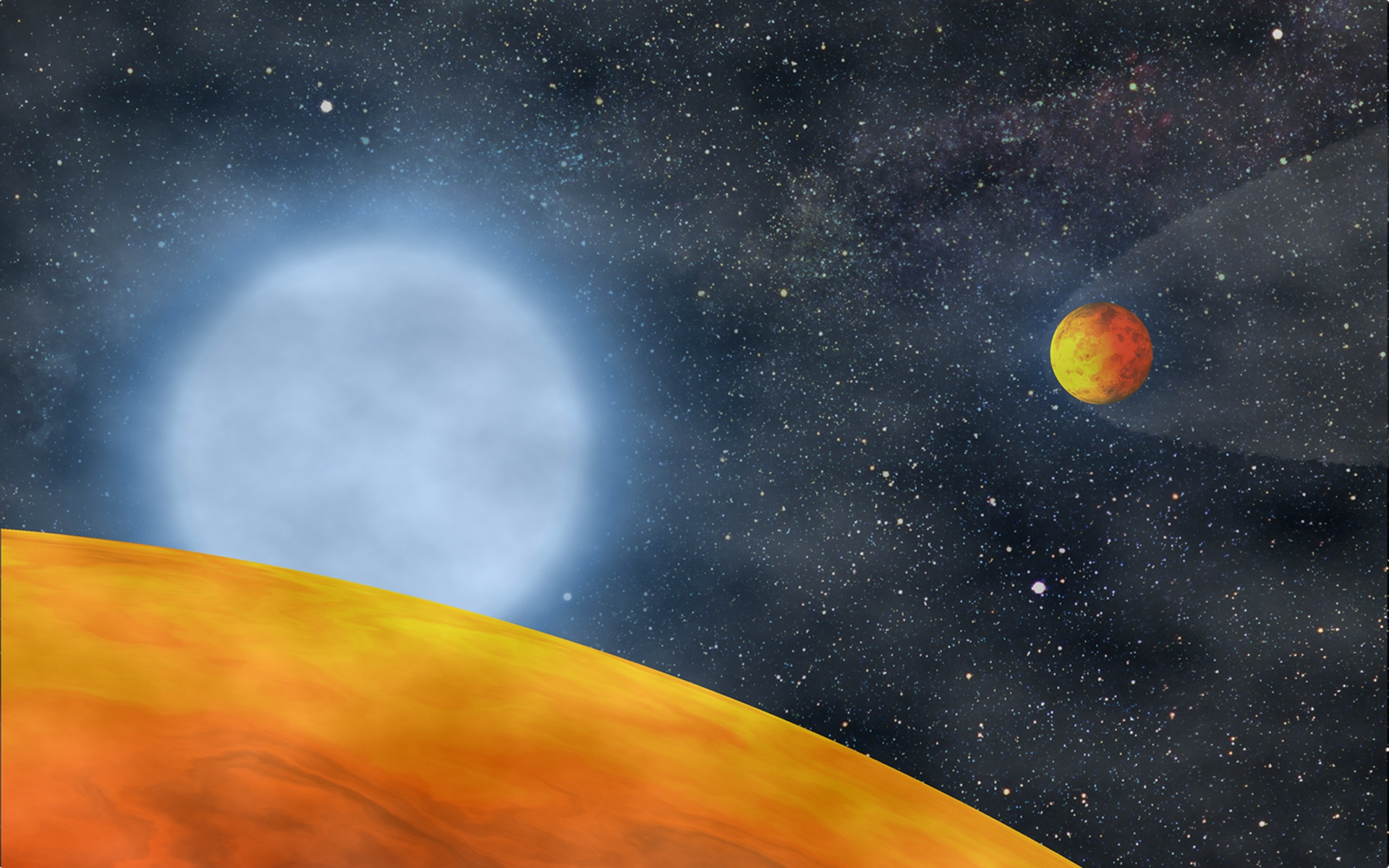Hard-to-Kill Alien Planets Survive Dying Star's Last Gasp