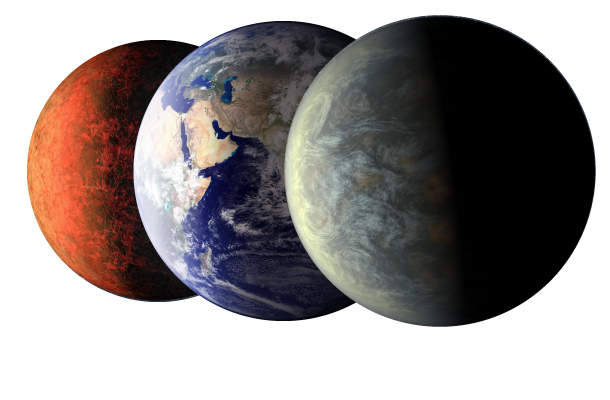 Earth-Size Planets & Diamond Worlds