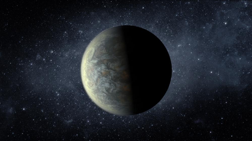 Alien Planet Kepler-20f
